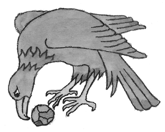 Eagle illustration from 'Spell Book of the Good Witch of Pendle' by Joyce Froome