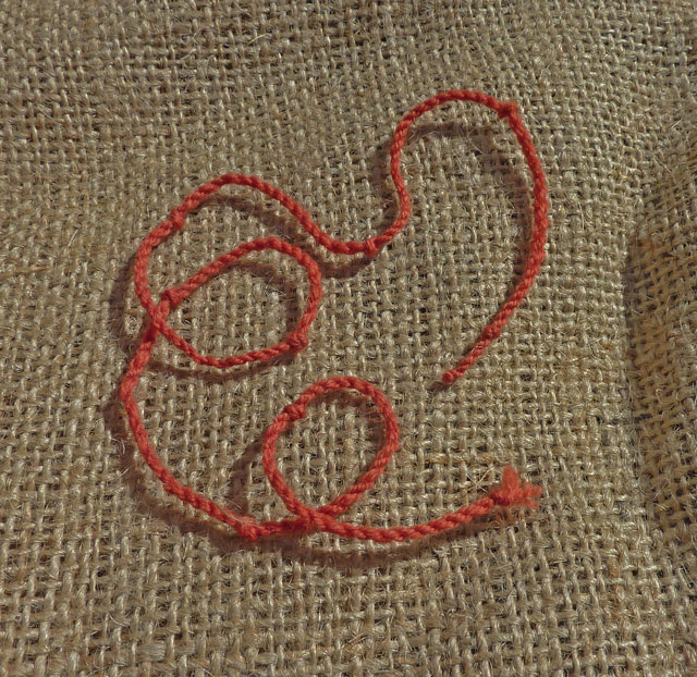 Red thread used to treat illness